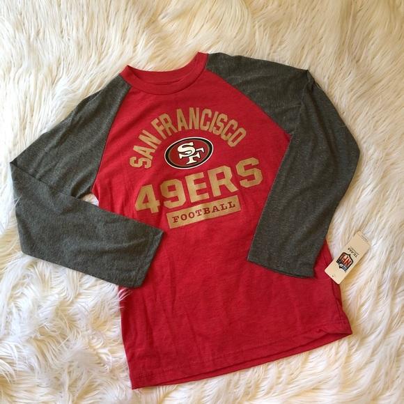 NFL San Francisco 49ers long sleeve youth tee 10214fc2a